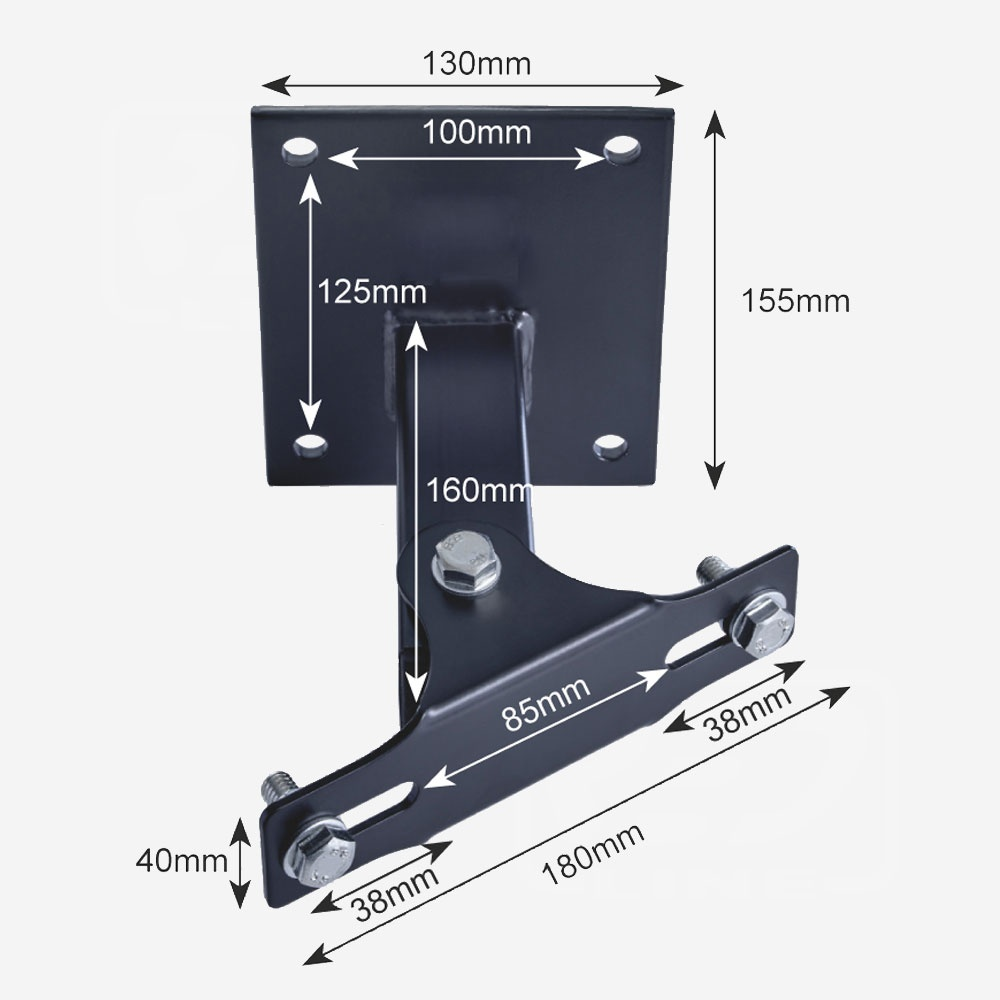 Floodlight Swivel Bracket 30w-100w