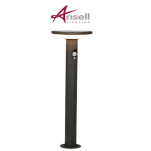 Solar Powered LED PIR Bollard 210 Lumen 600mm