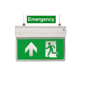 3in1 LED Emergency Exit Sign  (Including all 3 different mounting options)