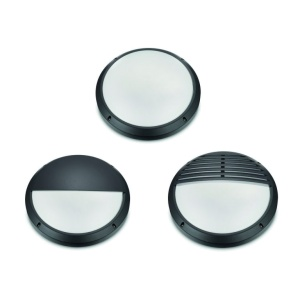 22w LED Black Bulkhead