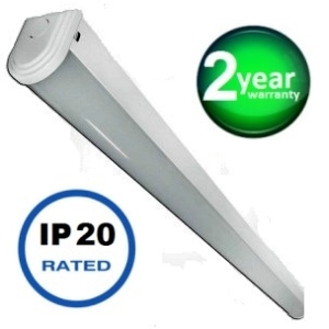 Economy LED batten 6ft (std output) 32watt, 3400 lumens (high output) 64watt, 5200 lumens