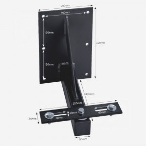 Floodlight Swivel Bracket 100w-300w