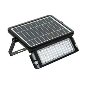 Solar Powered 10W LED Floodlight with PIR Sensor 1080 Lumen
