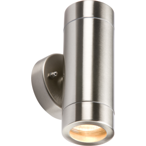 GU10 LED Wall Light Chrome