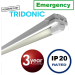 Contract LED Emergency batten 4ft (std output) 27watt, 2879 lumens (high output) 48watt, 4977 lumens