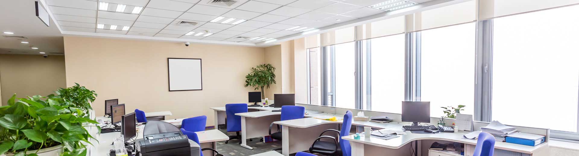 Range of Surface LED Office lights