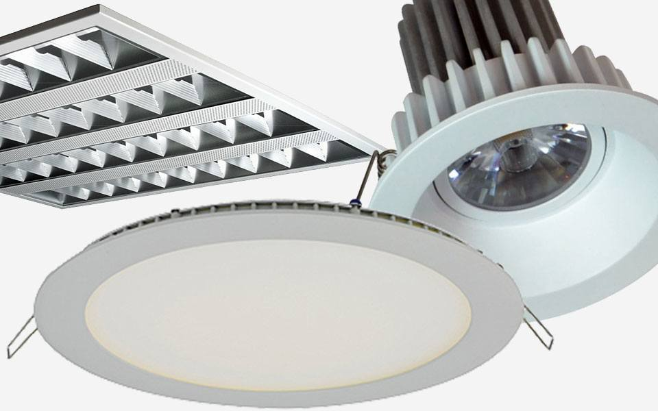 Recessed LED Office & Commercial Lighting