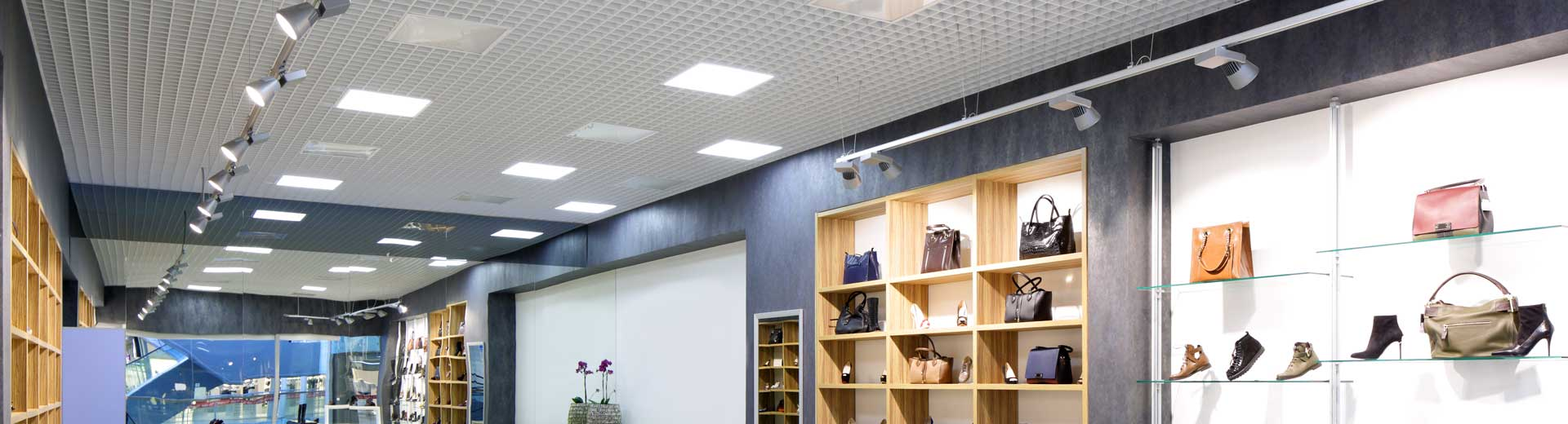 Full range of Retail & Display LED Lighting